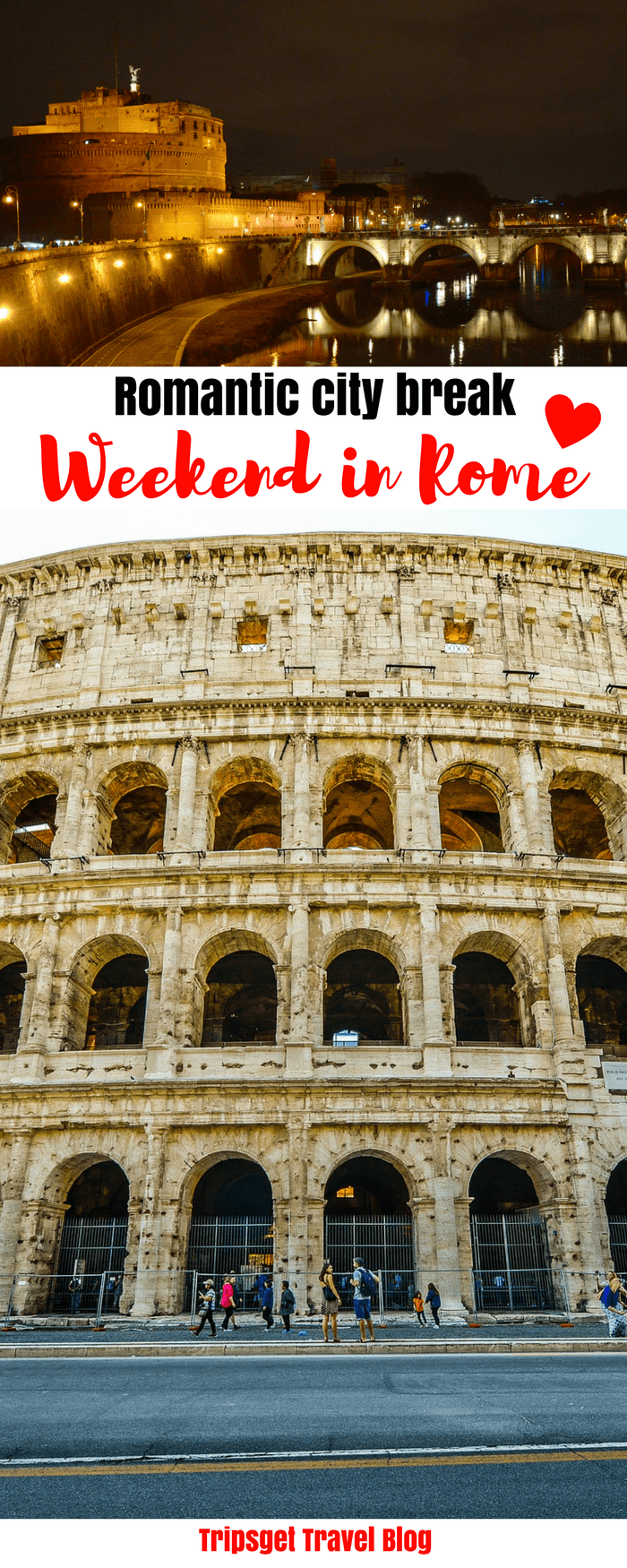 Rome weekend break: ideas for a romantic getaway: couples getaway ideas, 3 days in Rome, Italy. Best weekend trips for couples.