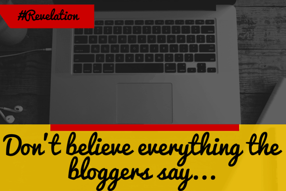 Bloggers lie about their income