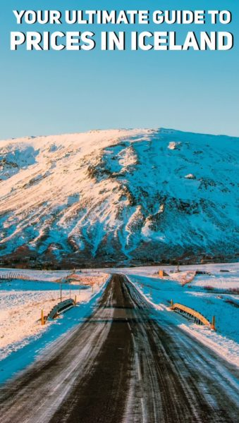Your ultimate guide to prices in Iceland 2017