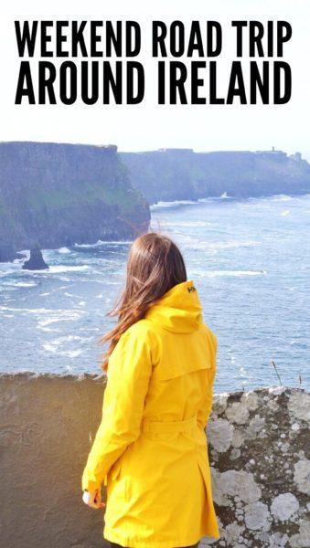 Weekend road trip around Ireland: Galway, Cliffs of Moher, Doolin Village and Dublin