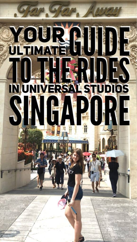 The ultimate guide to the rides in Universal Studios Singapore