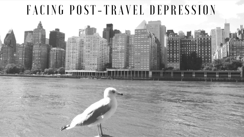 Facing post-travel depression