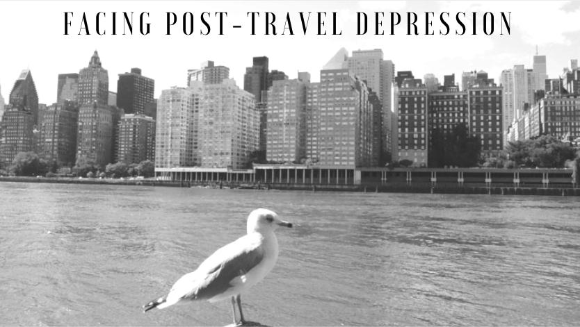 Facing post-travel depression