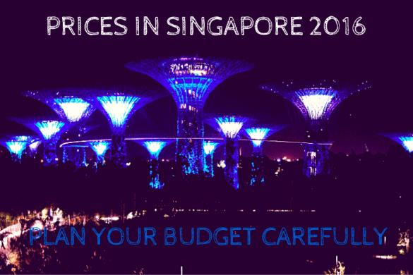Prices in Singapore