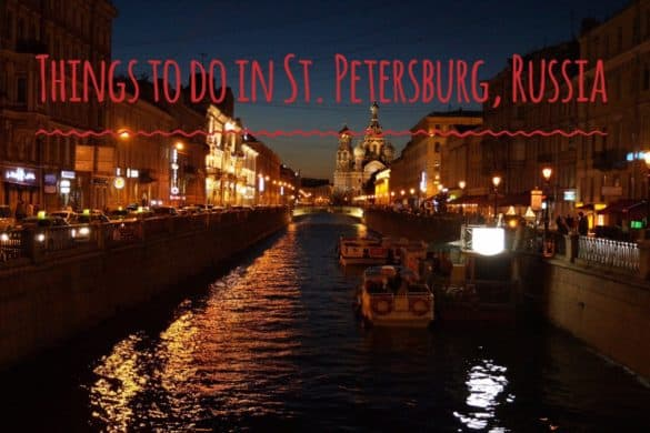 what to see in St. Petersburg Russia
