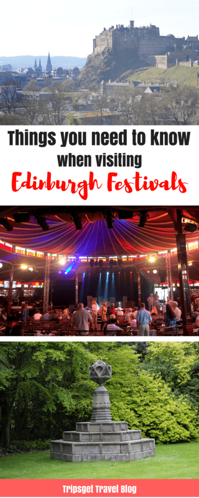 Everything you need to know before attending Edinburgh Festivals: Edinburgh Fringe and Edinburgh International Festival