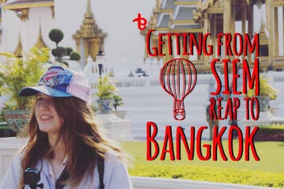 from Siem Reap to Bangkok