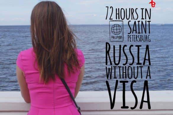 Saint Petersburg without a visa