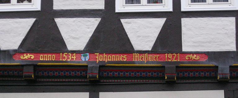 Houses in Zelle, Germany. Fachwerk