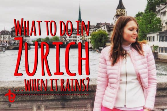 Zurich when it rains