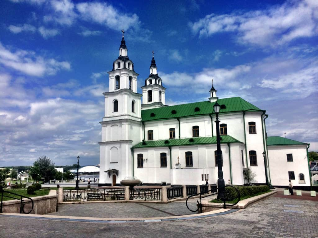 Beautiful churches in Minsk, Belarus | Eastern Europe Trip itinerary