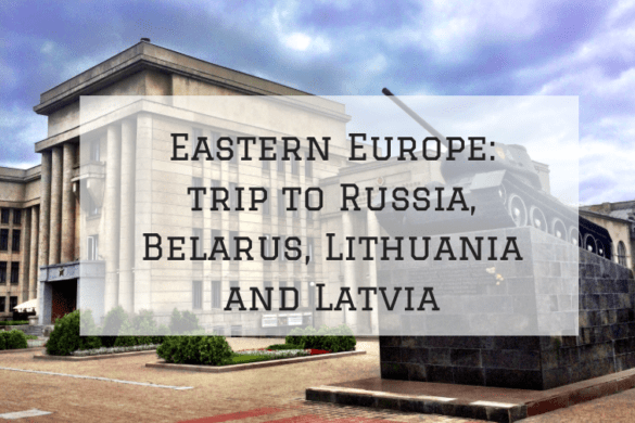 Eastern Europe Trip itinerary for 3 days