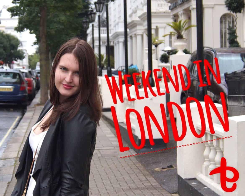 weekend in london