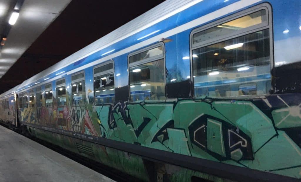 Balkan trip: Train from Thessaloniki to Florina
