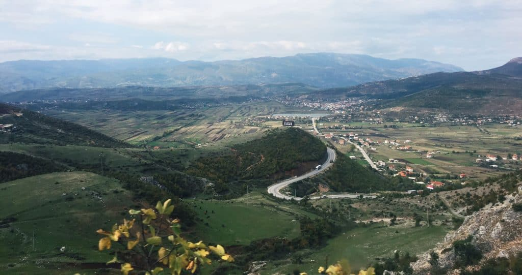 Balkan trip: landscapes of Albania