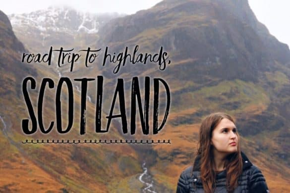 Road trip to Highlands, Scotland in November