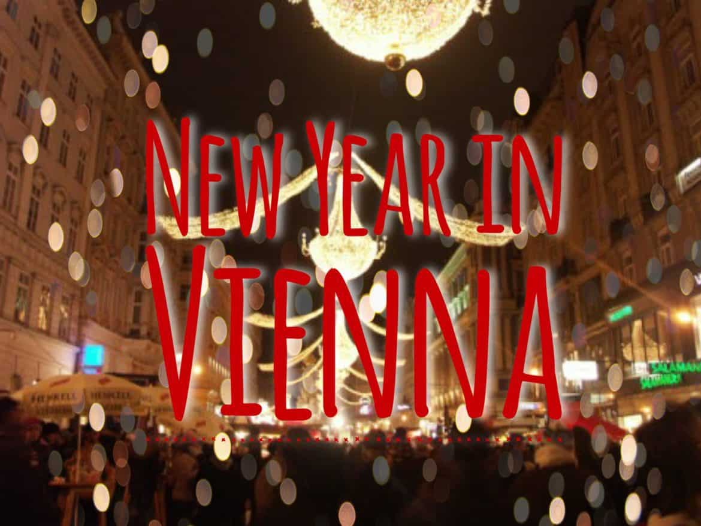 celebrating New Year in Vienna