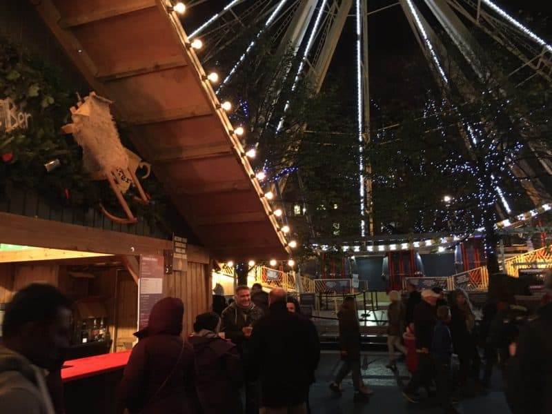 Visiting Edinburgh Christmas Market 2016