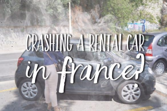 crashing rental car in France - our experience with Avis
