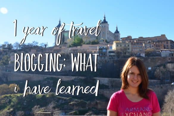 1 year of travel blogging what I have learned