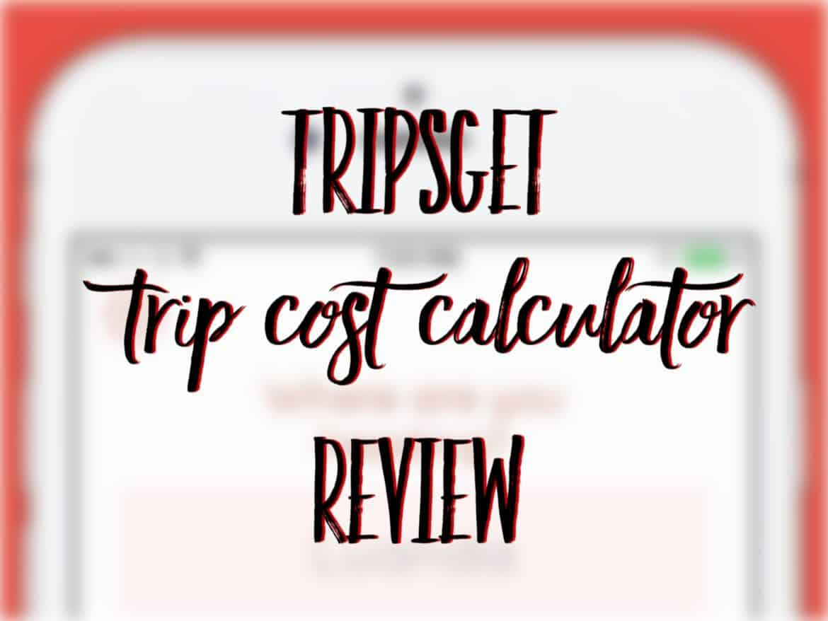 Tripsget Trip Cost Calculator