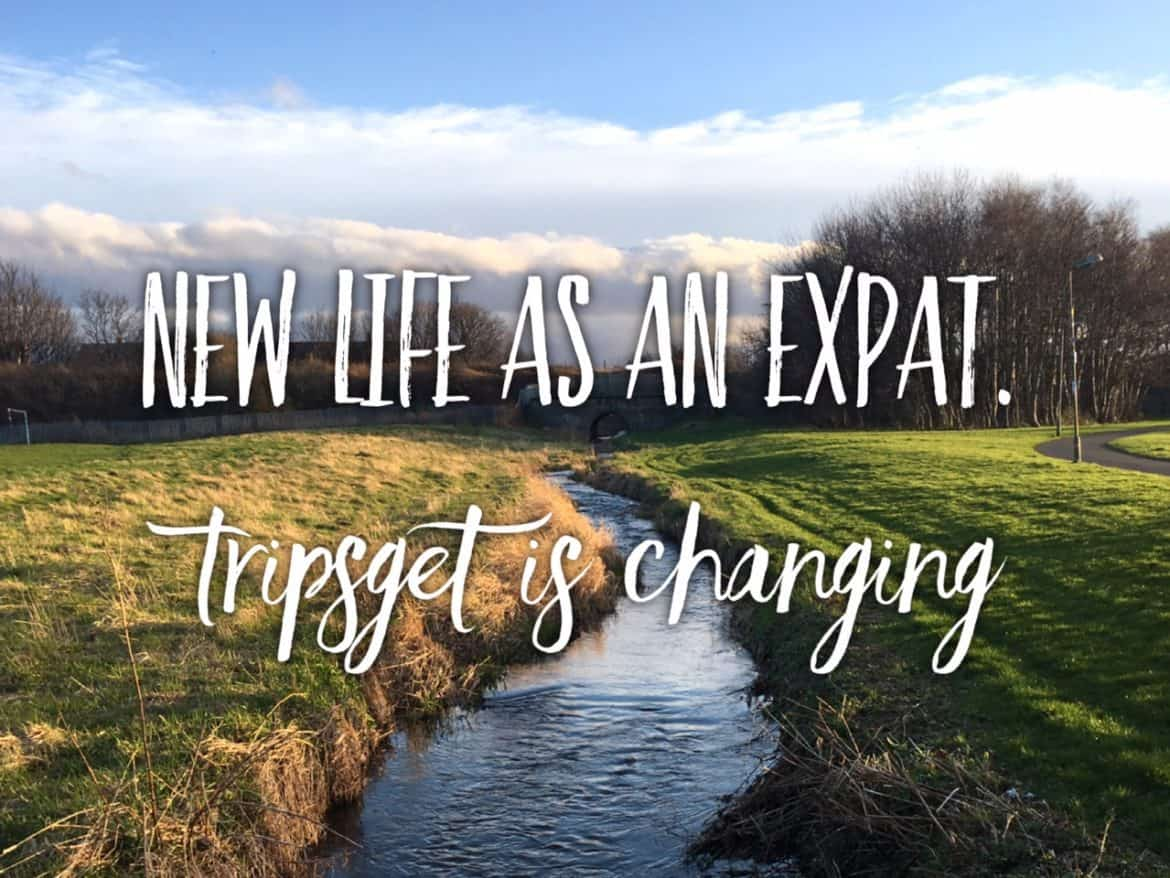 End of long-distance relationship and start of the expat life