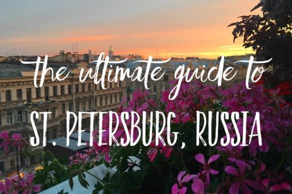 The ultimate guide to St. Petersburg, Russia from a local: places, food, accommodation in Saint Petersburg