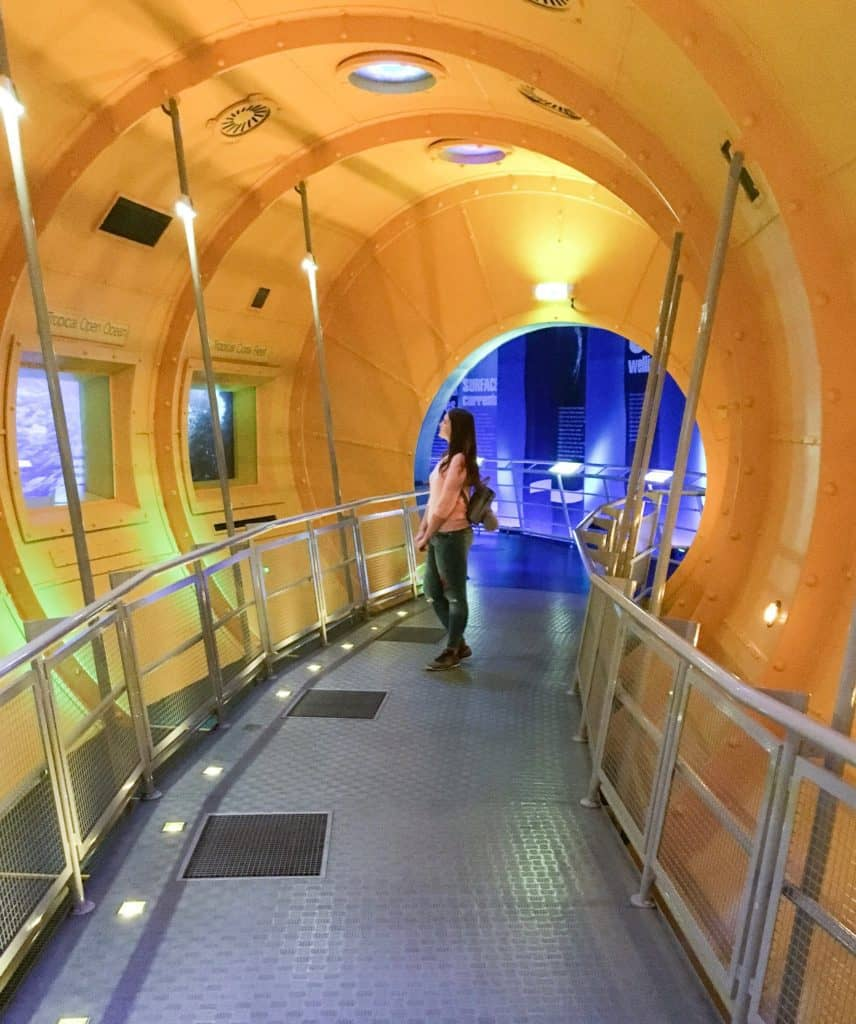 Edinburgh Dynamic Earth - one of the best interactive museums in the world