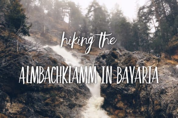 Hiking the Almbachklamm