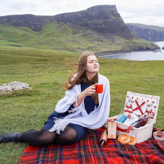 We had a lovely picnic at the Neist point withhellip