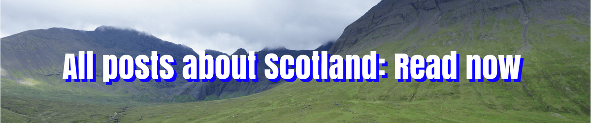 All about Scotland on Tripsget Blog for young adventurous professionals: from Edinburgh to the Isle of Skye