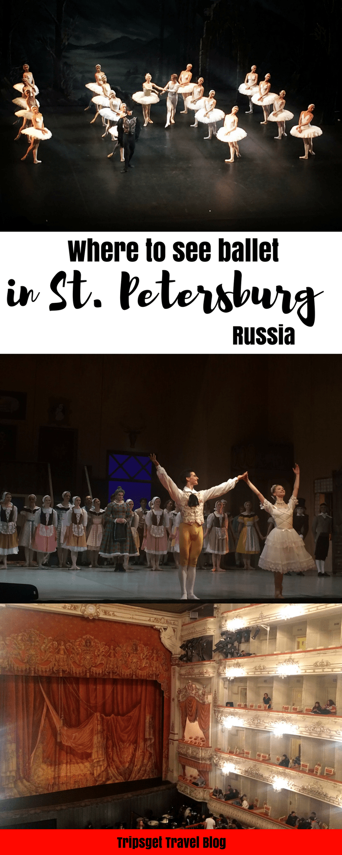 St. Petersburg ballet - where to see ballet in Russia - Swan Lake, Nutcracker, Giselle, La Fille Mal Gardee, Flame of Paris, Boheme