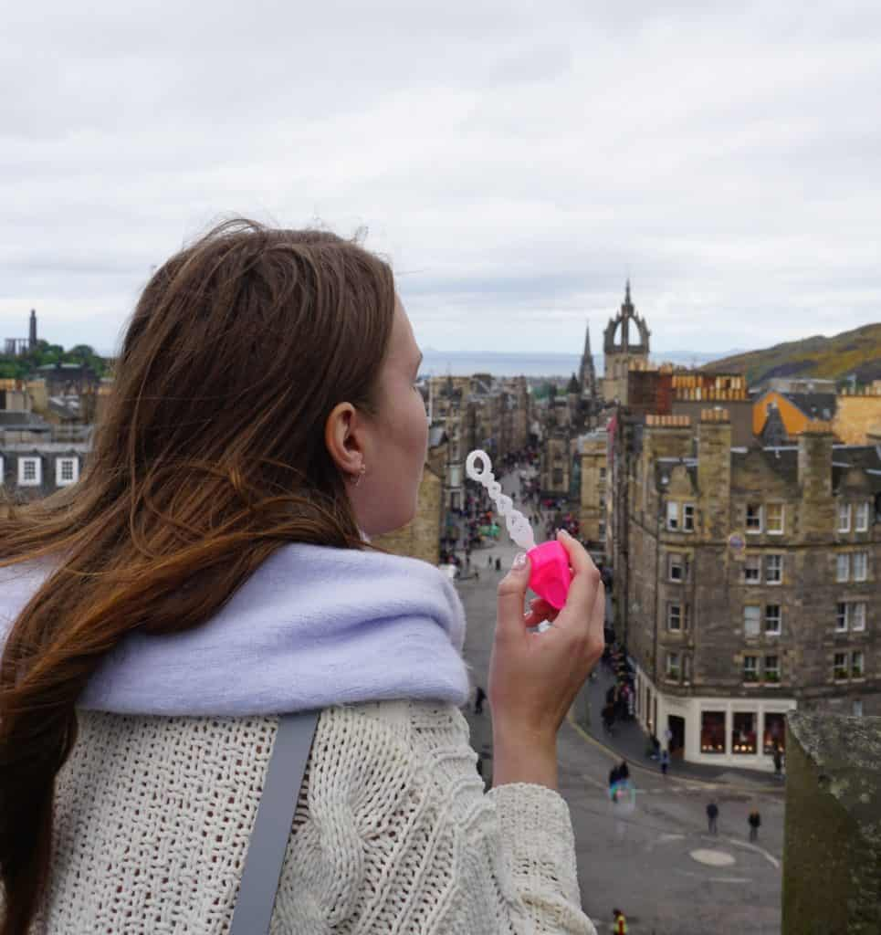 Best Instagrammable spots in Edinburgh, Scotland | Tripsget - Camera Obscura Terrace