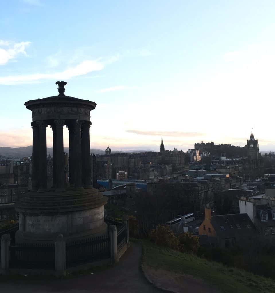 Beautiful Calton Hill - Best Instagrammable spots in Edinburgh, Scotland | Tripsget