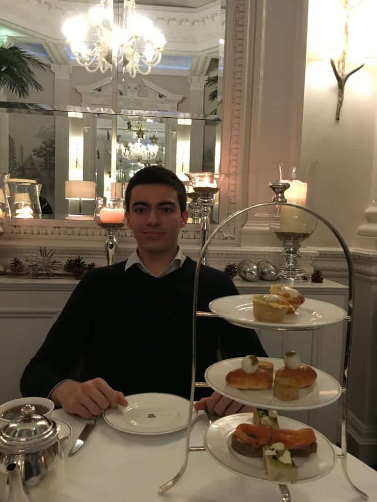 Afternoon tea in Balmoral