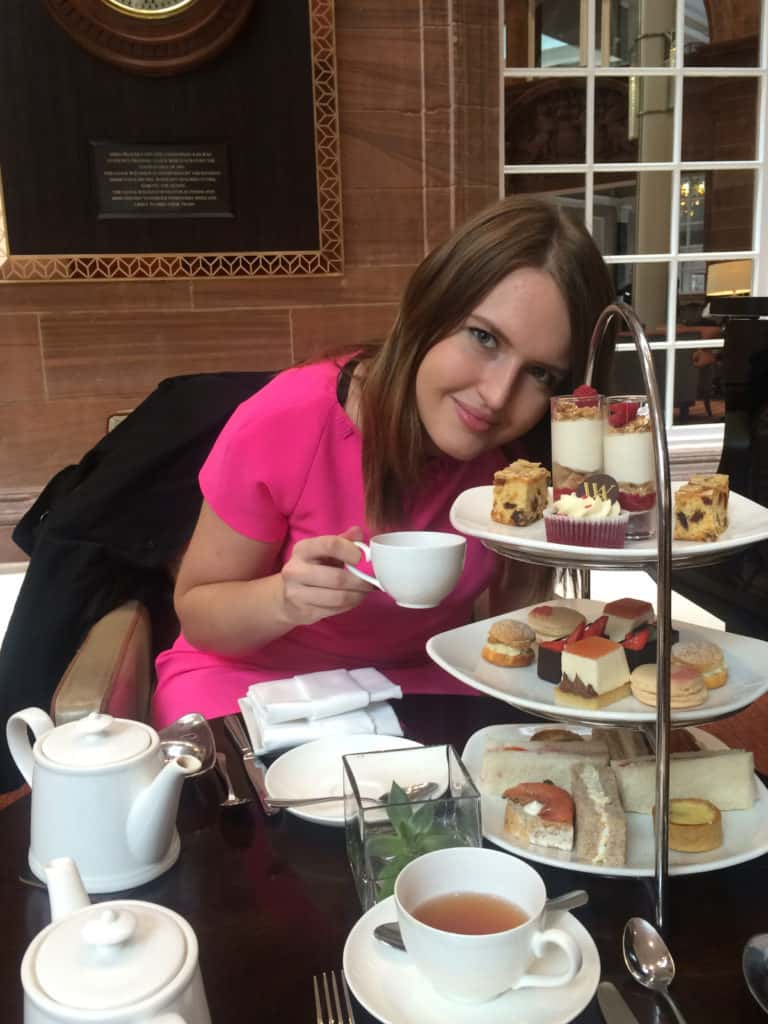 Best afternoon tea in Edinburgh - Waldorf Astoria