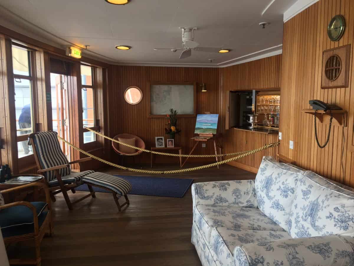 The HM Royal Yacht Britannia