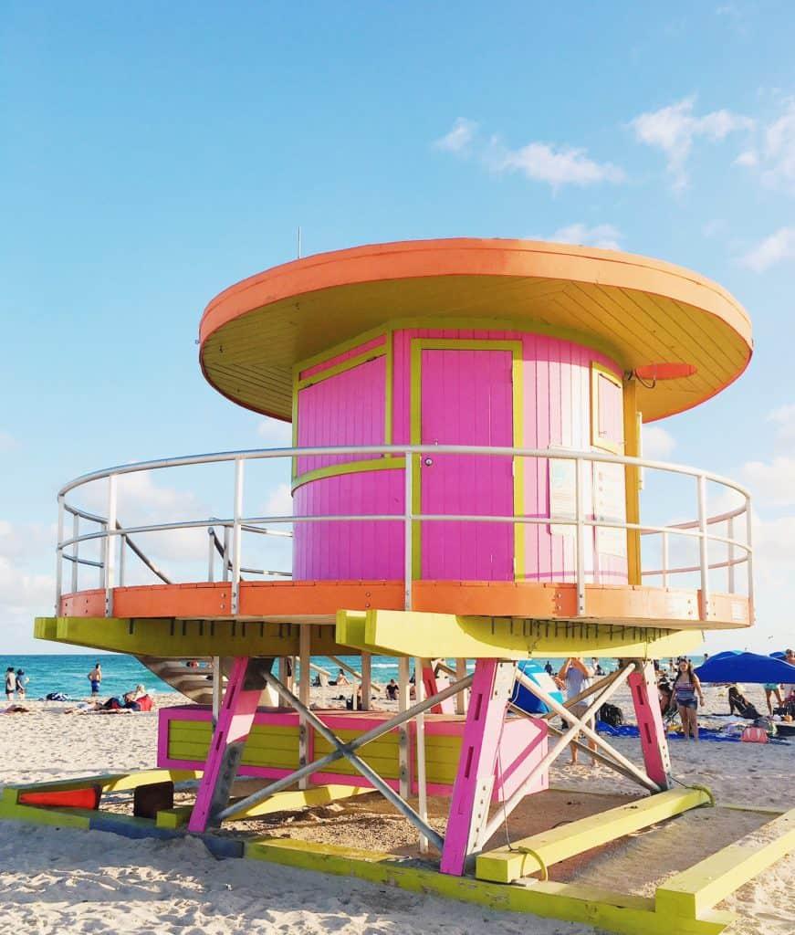 Beach in Miami vs Miami South Beach