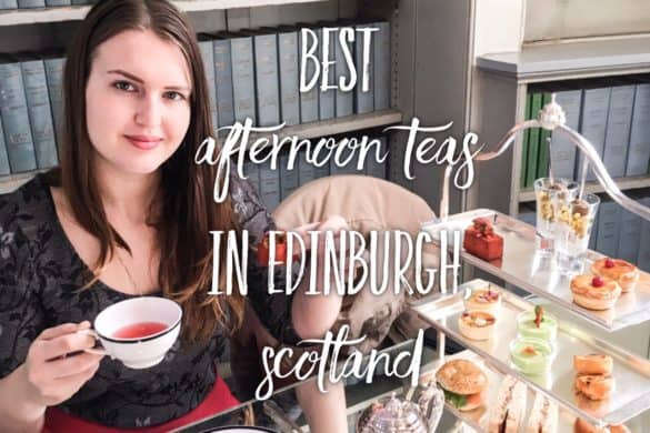 Best afternoon teas in Edinburgh, Scotland. Afternoon Tea in Edinburgh