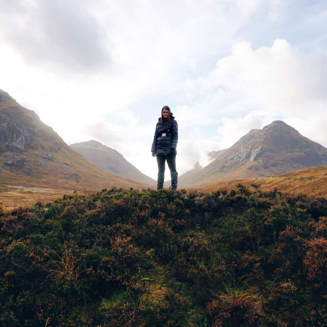 Beautiful Scottish Highlands in November