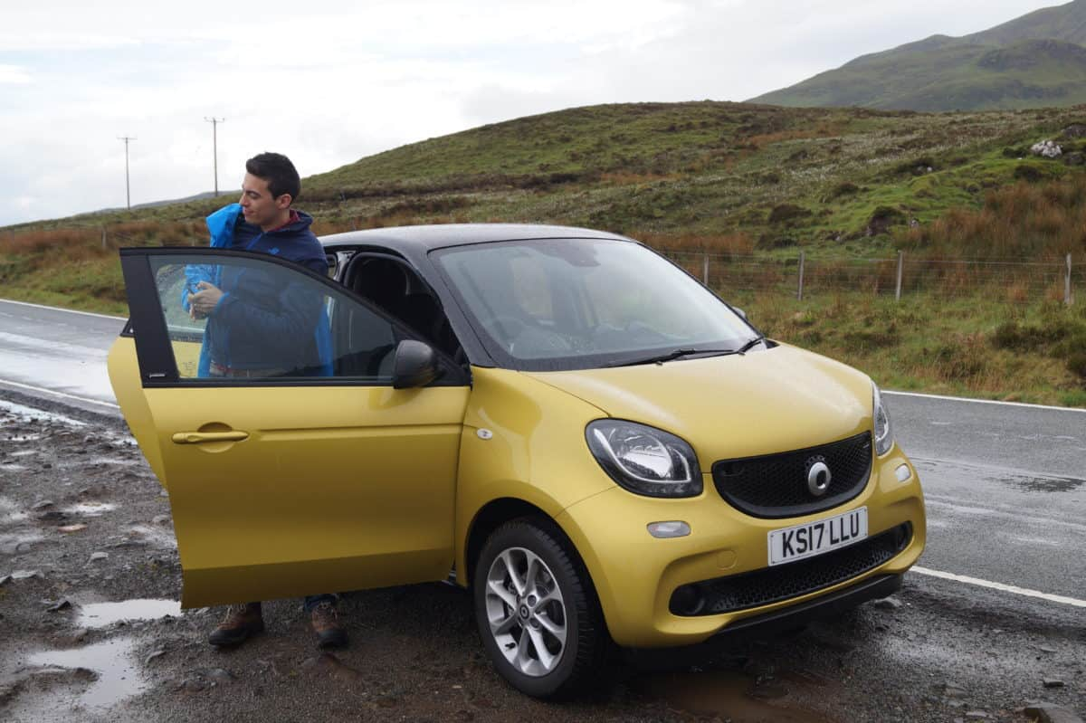 Hiring a car in Edinburgh