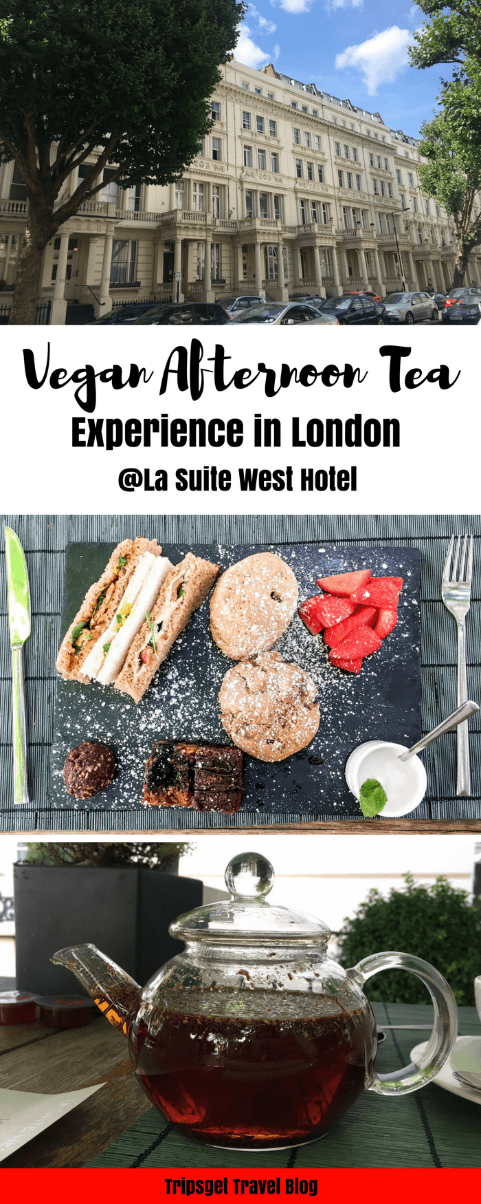 La Suite West Vegan Afternoon Tea in London