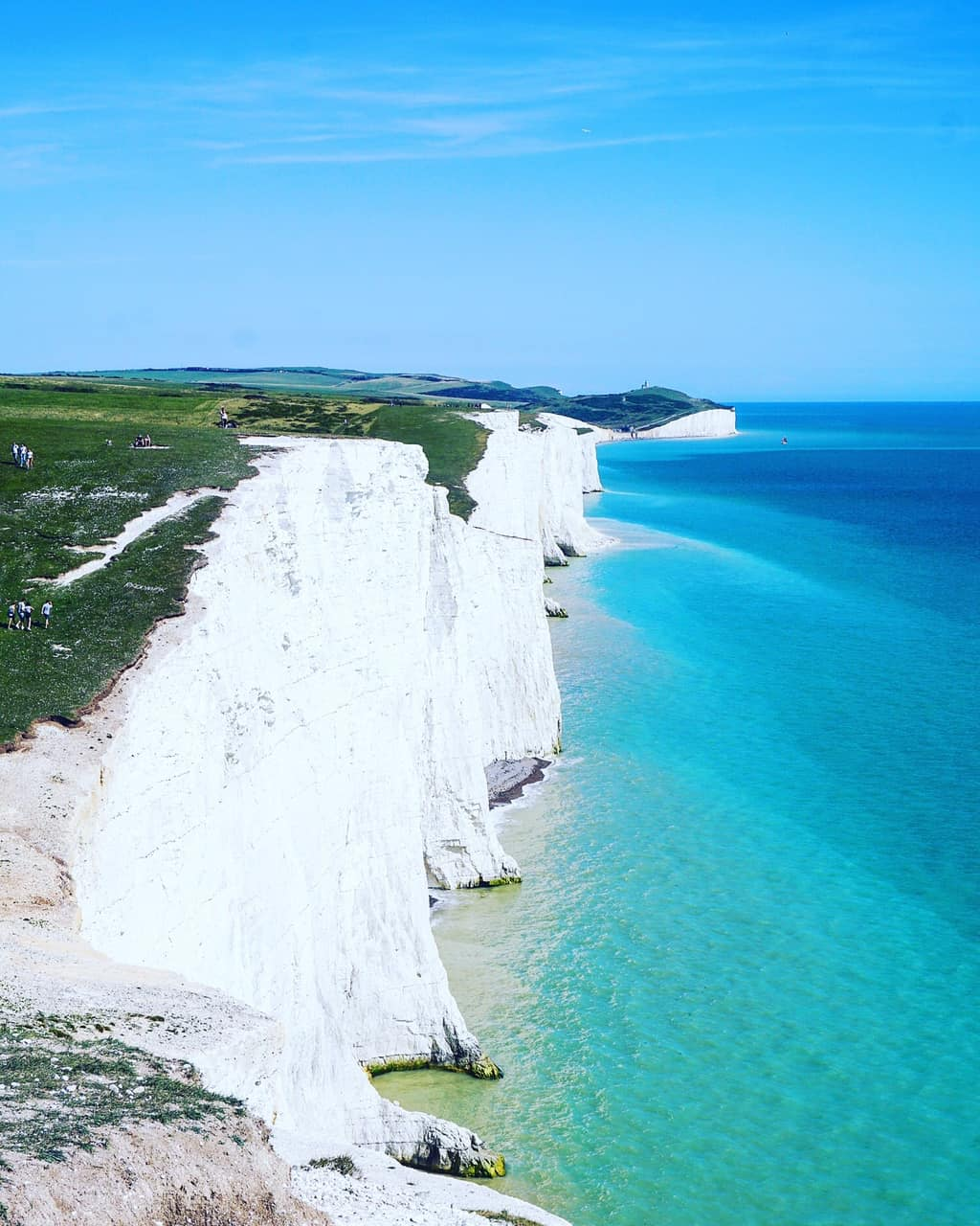 7 Sisters country park, England, East Sussex. Seven Sisters country Park. Best day trips from London. Sussex.