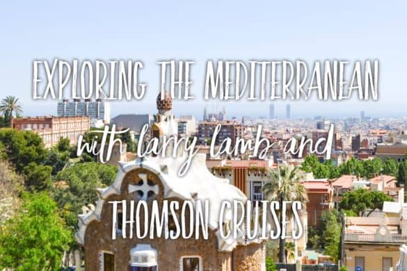 Exploring the Mediterranean with Larry Lamb and Thomson Cruises