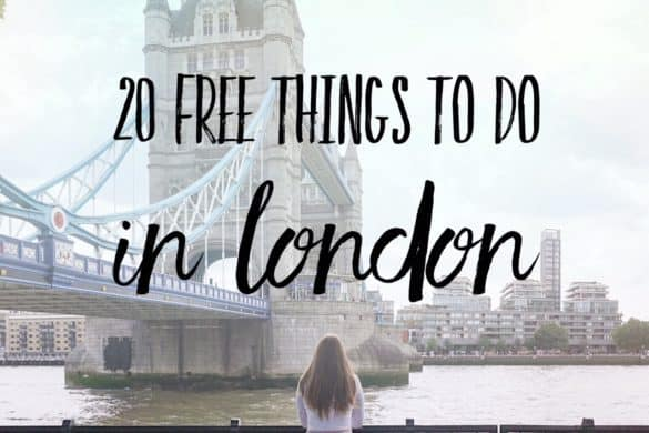 20 free things to do in London