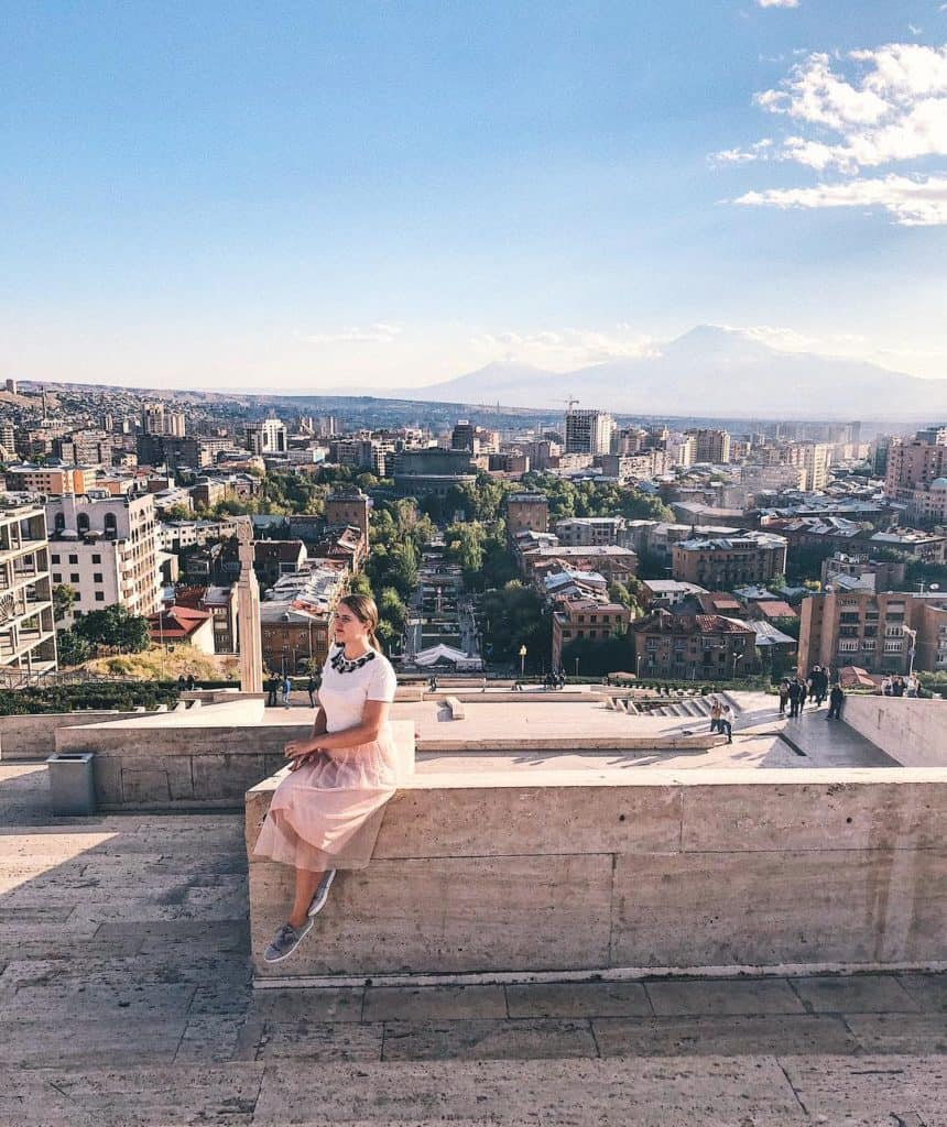... is one of the most impressive monuments in Yerevan. From the top of the  Cascade, you can see the famous Mount Ararat – the tallest mountain in  Armenia.