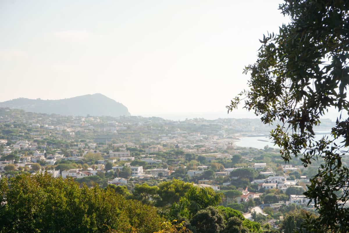 Panorama of Ischia, Italy