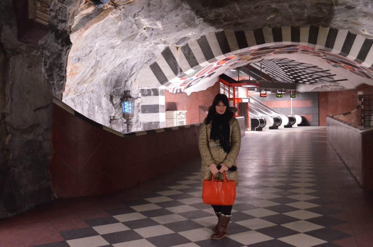 Metro in Stockholm