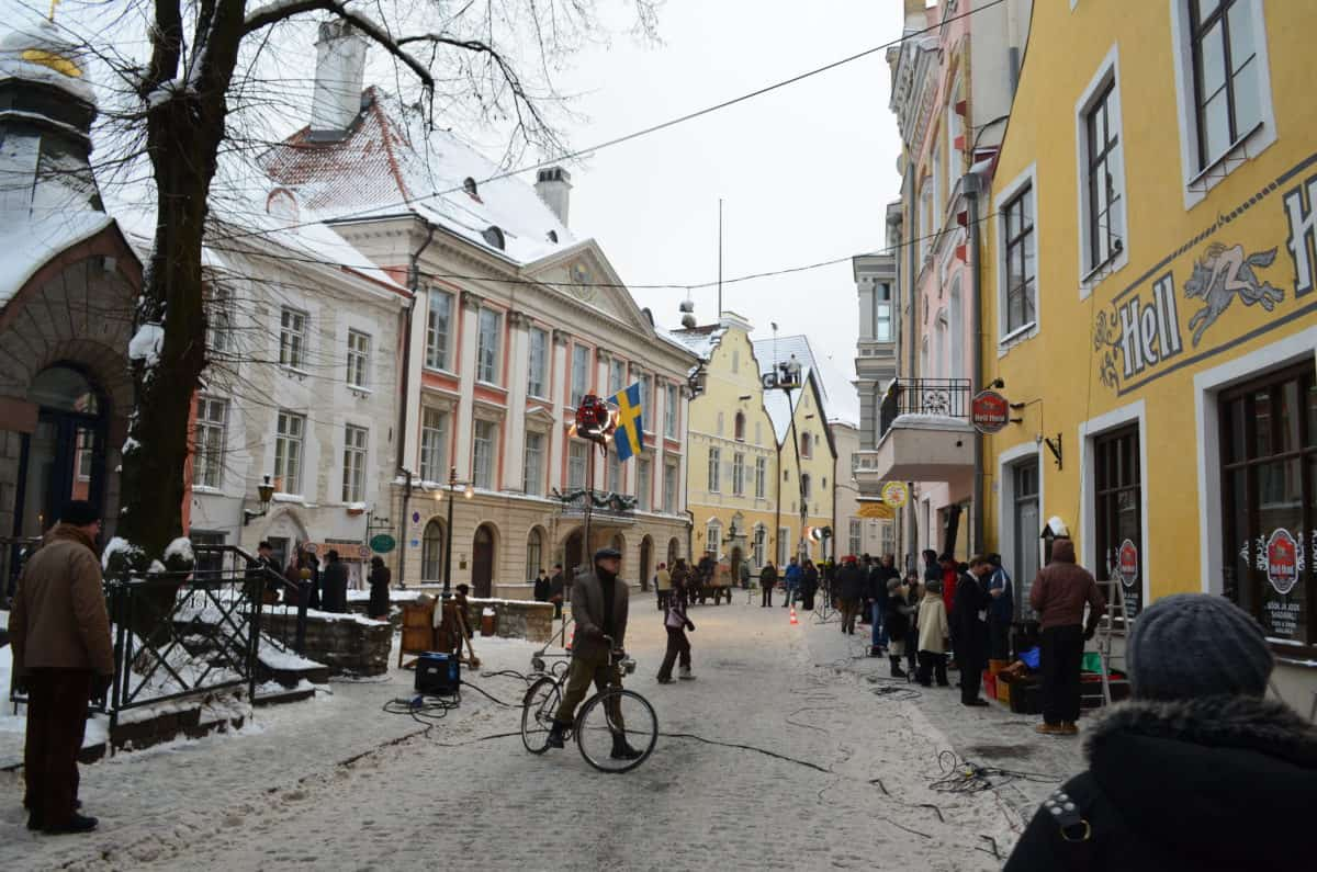 Tallinn in winter