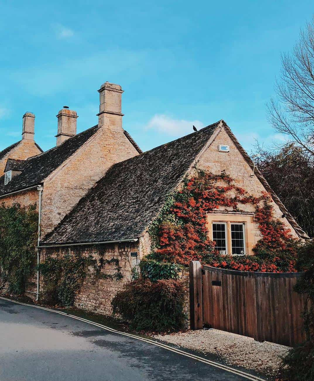 Gorgeous houses in Lower Slaughter